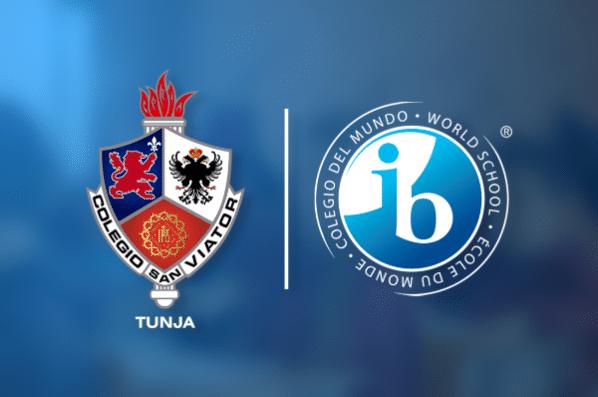 Logos San Viator y IB
